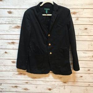 Lauren Ralph Lauren black blazer size medium